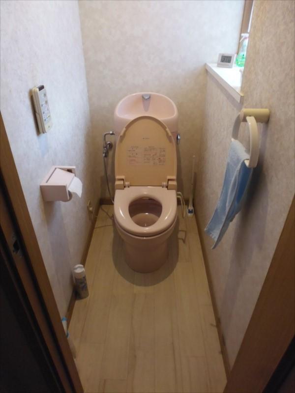 介護保険リフォームトイレ
