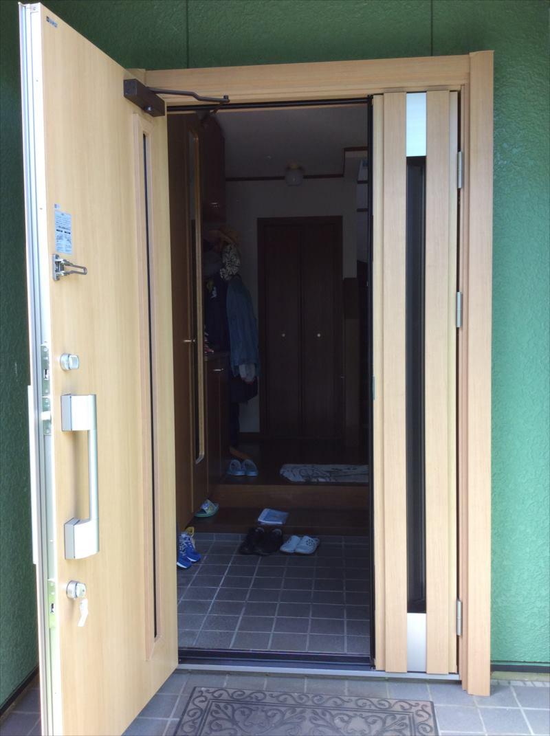 リフォーム玄関ドア 「ドアリモ」施工例